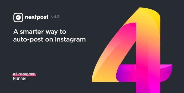 Planejador de mídia do Instagram v4.3.0Planejador de mídia do Instagram v4.3.0