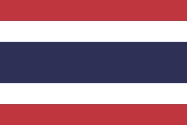 Gambar Bendera Thailand Sekarang