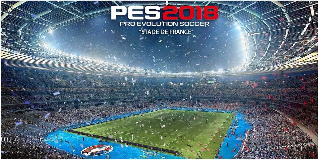 PES 2018 Stadium Stade de France by MjTs-140914