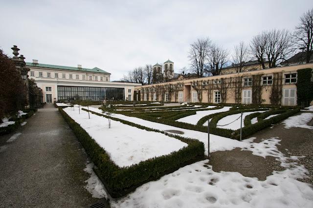 Castello e giardini di Mirabell-Salisburgo
