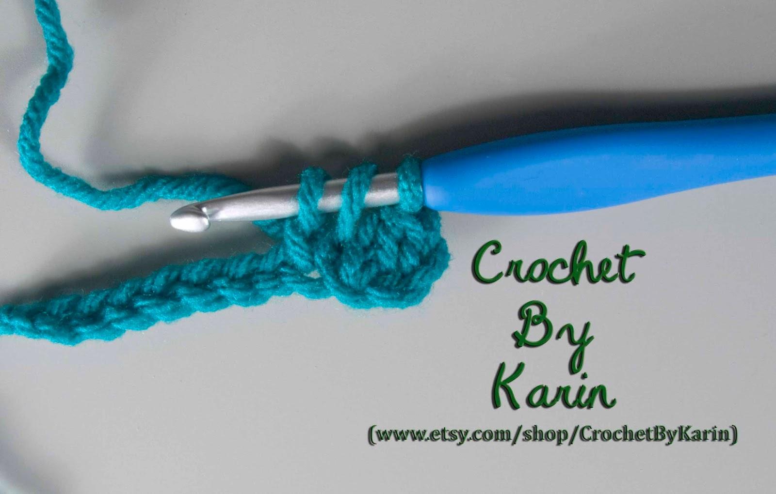 Crochet Stitch Edc : CrochetByKarin: Extended Double Crochet