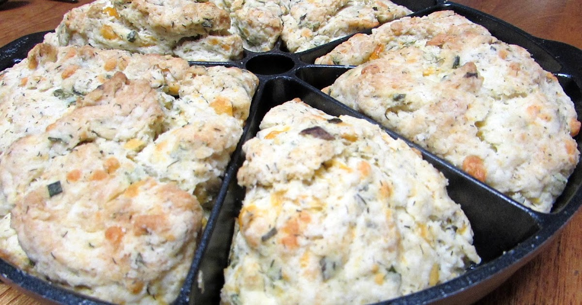 Country at Heart Recipes: Cheddar Dill Scones