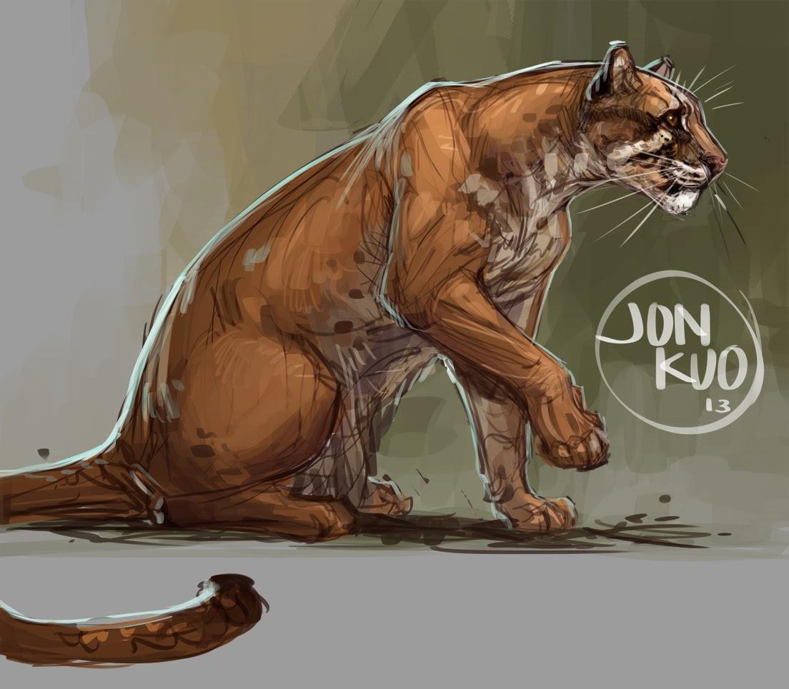 Jonathan Kuo Artwork Golden Cat