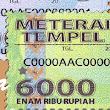 Harga Materai 3000 dan 6000