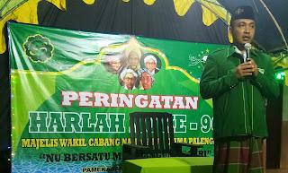 MWCNU Palengaan, Indonesia Aman Berkah Para Pendiri NU