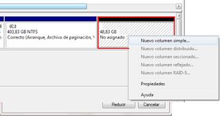 Como crear o eliminar particiones en Windows 7 sin tener que formatear -http://2.bp.blogspot.com/-jO9nNyFMdEc/T0vLQXH0tvI/AAAAAAAAABM/nyDI0w9gfXw/s320/Crear+particion.png