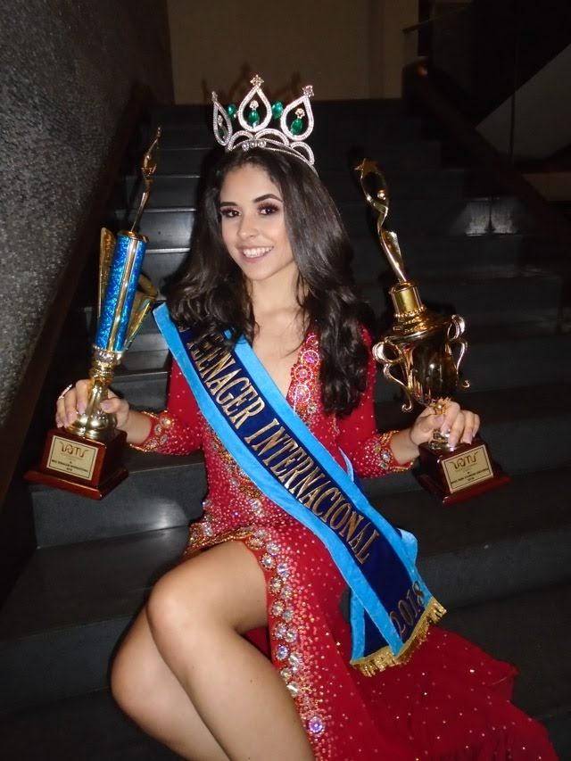 Júlia Hemza, Miss Teenager Internacional 2018. Foto: Marcelo Ramos