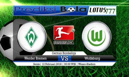 PREDIKSI  SKOR  Werder Bremen vs Wolfsburg  12 Februari 2018