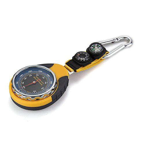 3-in-1 Compass, Barometer, Thermometer with Carabiner