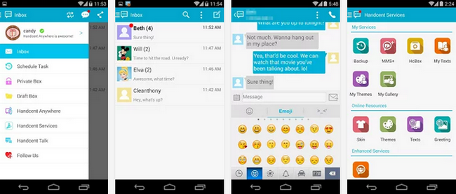 Cara Megubah Tampilan Background SMS di Android
