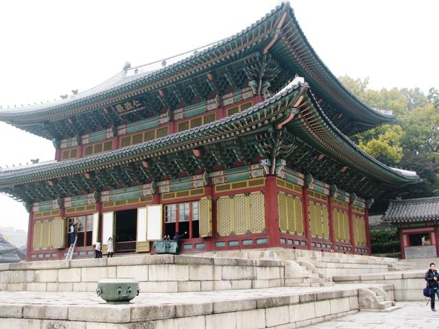 Injeongjeon - main building of Changdeokgung, changdeokgung building, changdeokgung main building, around seoul, day tour seoul,