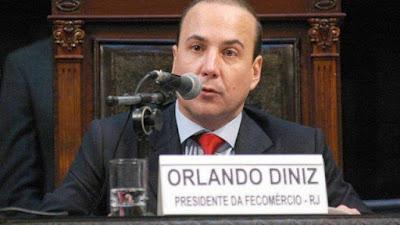 Lava-Jato prende Orlando Diniz presidente da Fecomércio