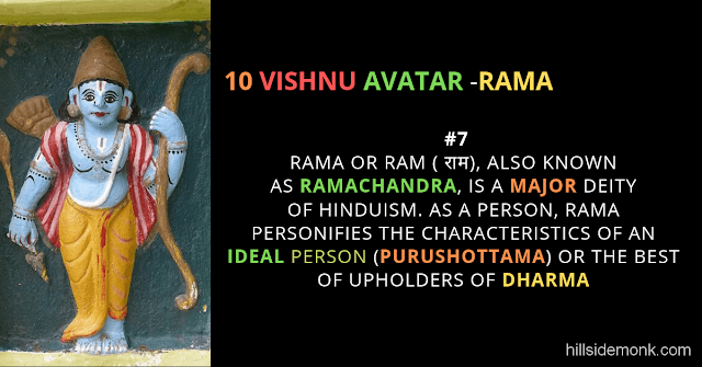 10 Vishnu Avatar In Hinduism-RAMA