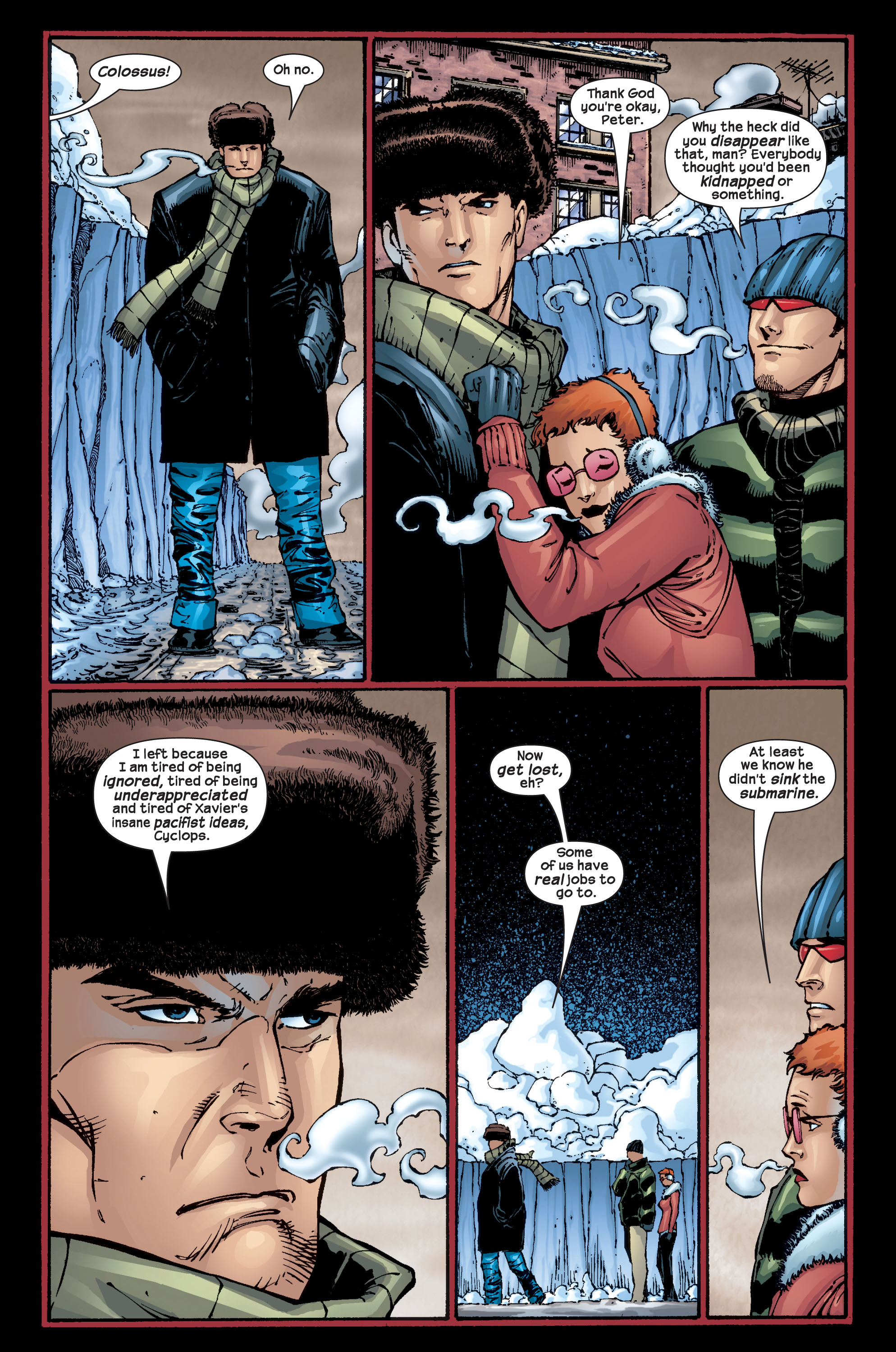 Read online Ultimate X-Men comic -  Issue #17 - 21