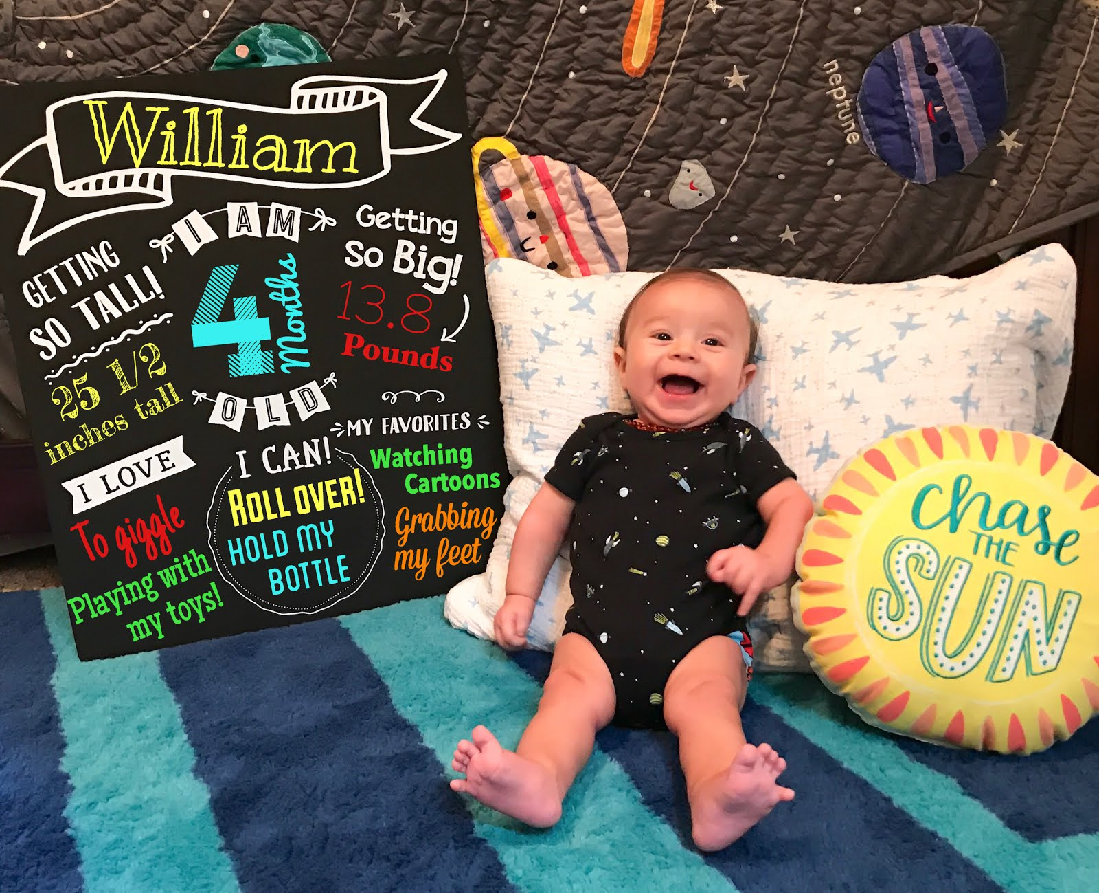 4 Months of William