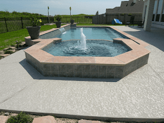 Custom Geometic Inground Pool Builder DFW  7