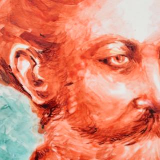 Portrait Jules Verne - Estelle d'Art Candy Cake & Morgane de MJB