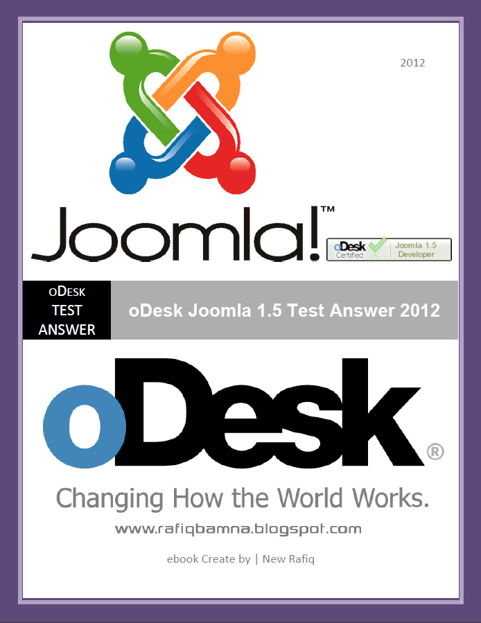 Joomla Tutorial Ebook