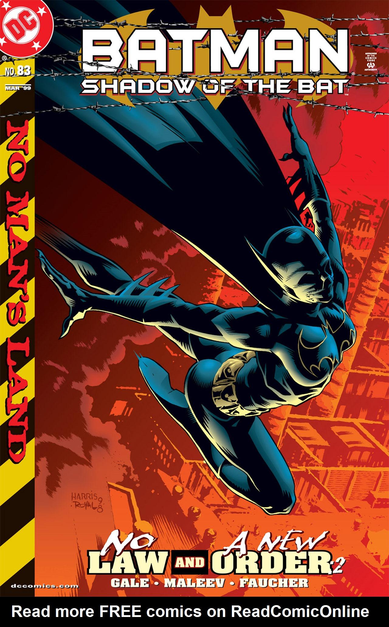 Batman: Shadow of the Bat 83 Page 1