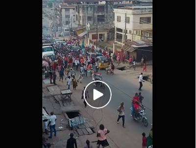 Biafra Proteste In Anambra State May 7th 2017