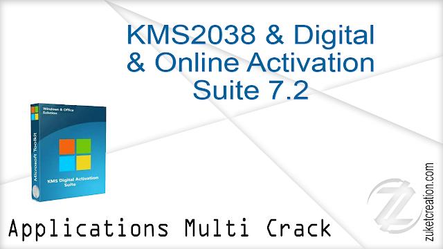 KMS2038 & Digital & Online Activation Suite 7.2  |  2.53 MB