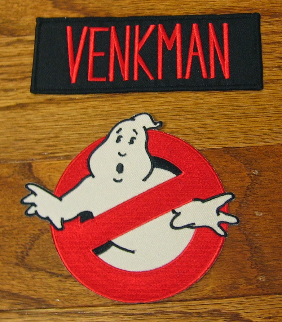 Ghostbusters patches