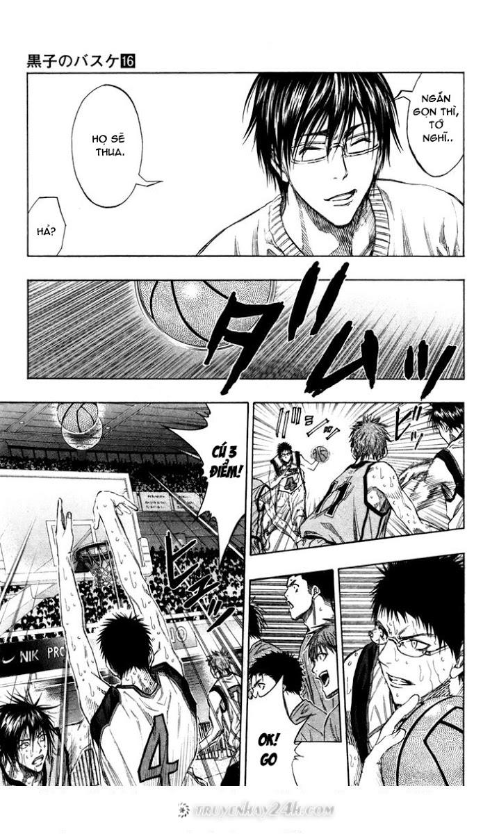 Kuroko No Basket chap 143 trang 3