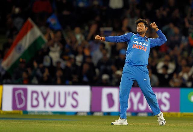 कुलदीप यादव ने न्यूजीलैंड के खिलाफ दूसरे वनडे में 4 विकेट झटके