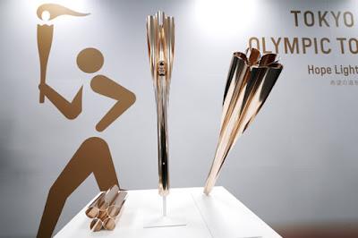 Tóquio 2020 tocha olímpica