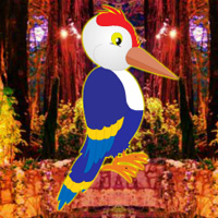 Play Games2rule Fantasy Forest Woodpecker Escape