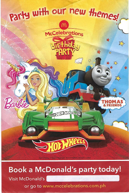 McCelebrations Birthday Party brochure