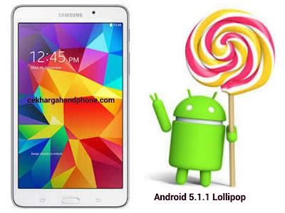Cara Instal Android 5.1.1 Lollipop Untuk Samsung Tab 4