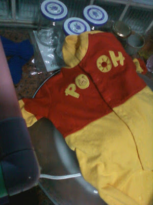 Winnie the Pooh's clothes