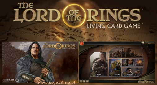 Ilustrasi The Lord of the Rings: Living Card Game