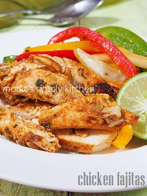 chicken fajitas resep praktis