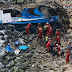 Acidente de ônibus no Peru deixou ao menos 48 mortos