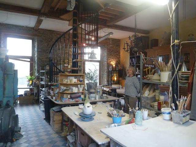 Borlon | Dominique Mosseray, céramiste