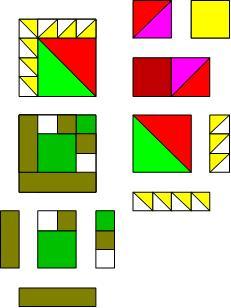 Fun Quilt Pattern Block Tutorial by The Quilt Ladies
