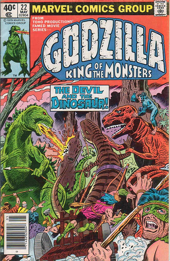 Godzilla (1977) Issue #22 #22 - English 1