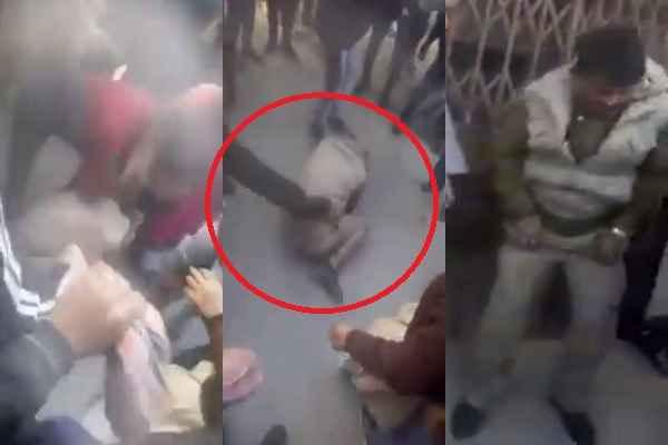 पुलिस वालों के खिलाफ बढ़ता जा रहा है लोगों का गुस्सा, नॉएडा में पकड़कर बहुत मारा, पढ़ें क्यों