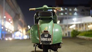 LAPAK VESPA KLASIK : Jual  Vespa serie Vnb 2 thn 1961 plat AB - JAKARTA