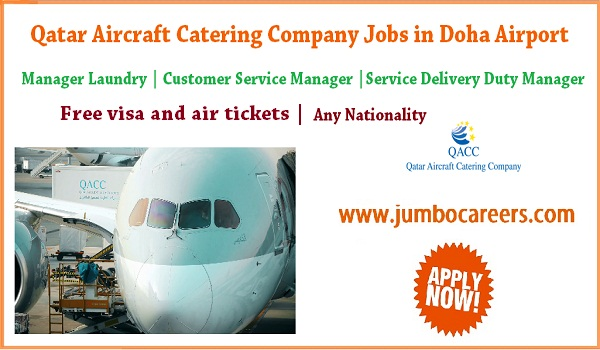 Qatar jobs for Indians, catering company jobs in Qatar,