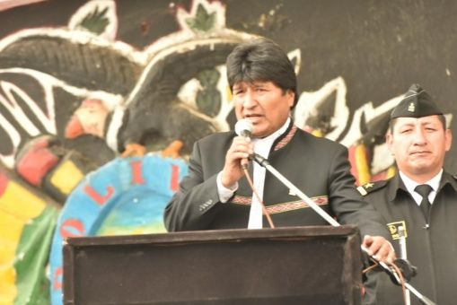 Evo Morales llama a defender la soberanía de Latinoamérica