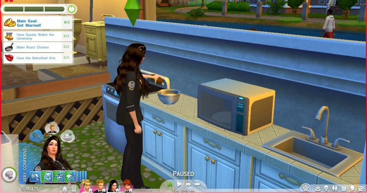 Sims  How To Make Caterer Make Cake