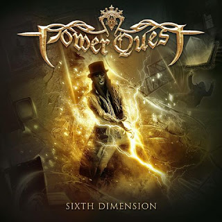 "Power Quest - ""Kings And Glory"" (lyric video) from the album ""Sixth Dimension"""