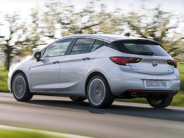 Novo Opel Astra 2017
