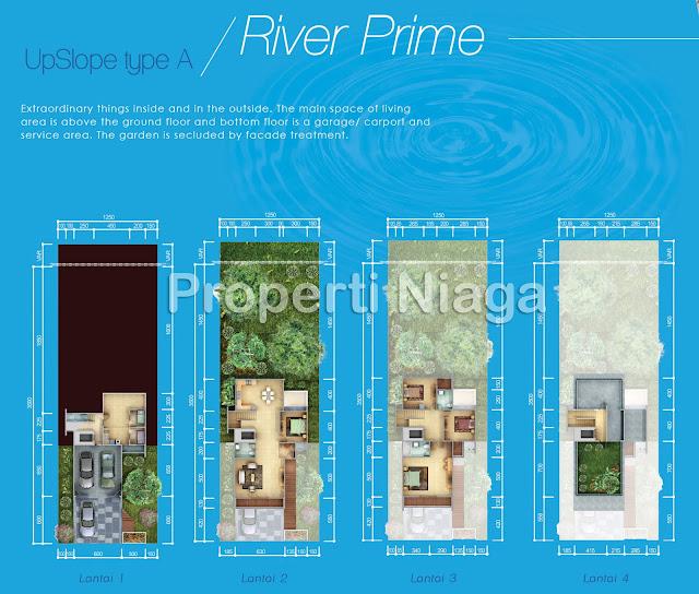 Denah-River-Prime-UpSlove-Tipe-A