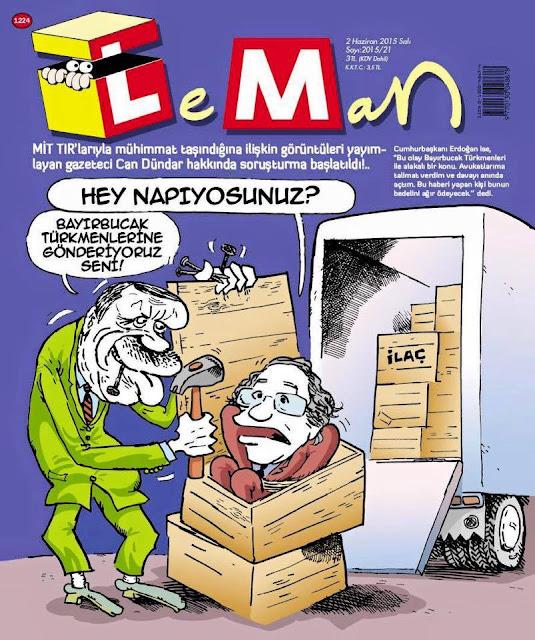 tayyip erdoğan can dündar karikatür