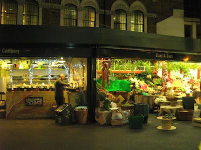 Puesto en Borough Market