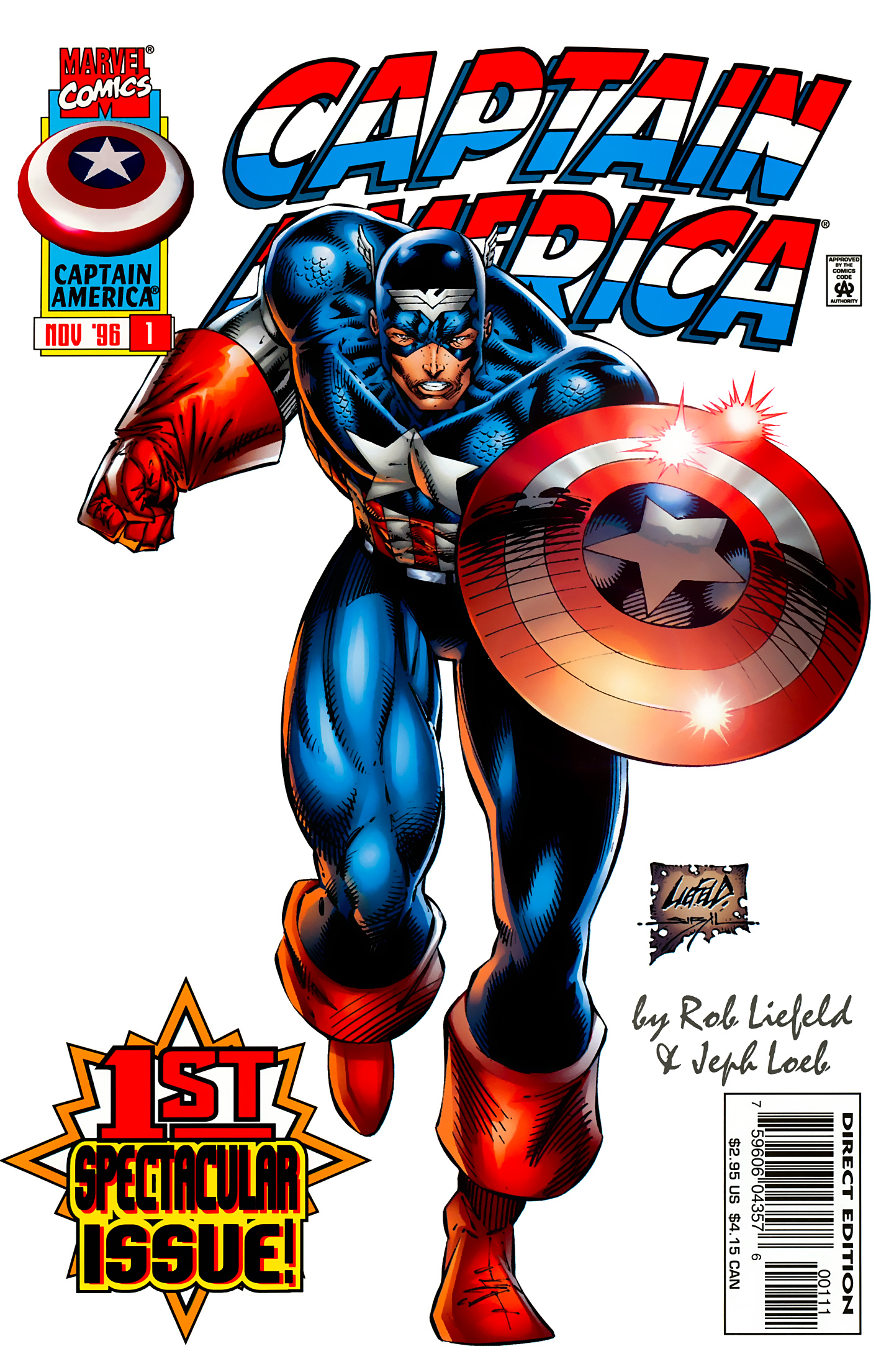 Captain America (1996) Issue #1 #1 - English 2